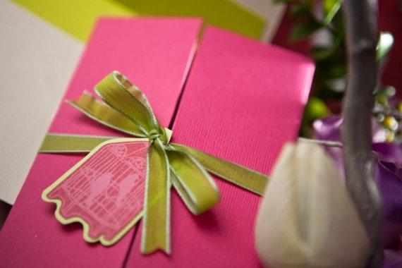 birdcage wardrobe fold invitation