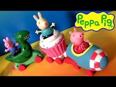 Peppa Pig Theme Park Train Ride With Dinosaur Play Doh - Trenecito de juguete Dinosaurio Nickelodeon - http://www.disneytoysreviews.com/peppa-pig-toys-dolls/peppa-pig-theme-park-train-ride-with-dinosaur-play-doh-trenecito-de-juguete-dinosaurio-nickelodeon/