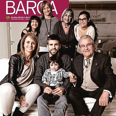 Esta es la primera portada de Milan Piqué