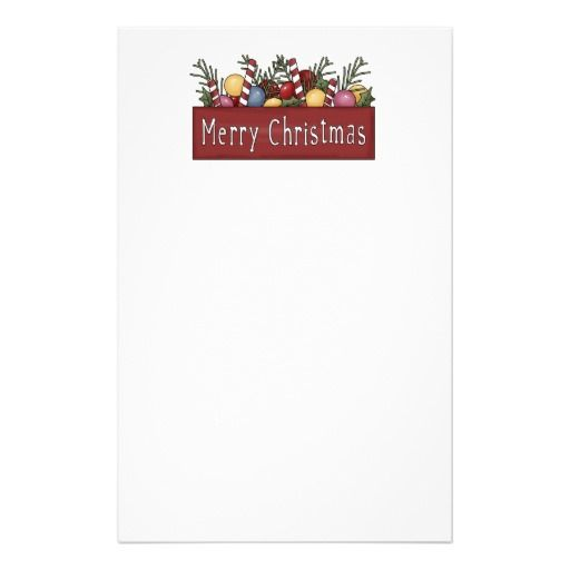 Best Christmas Stationary Images On   Xmas Christmas