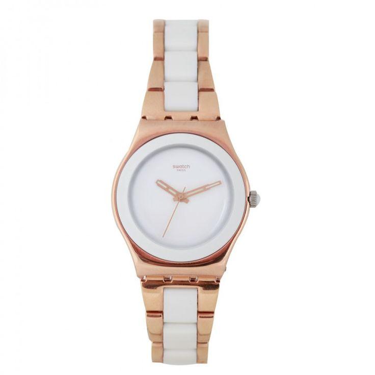 Reloj - SWATCH Blanco y Rosa #casual #femenino #siman