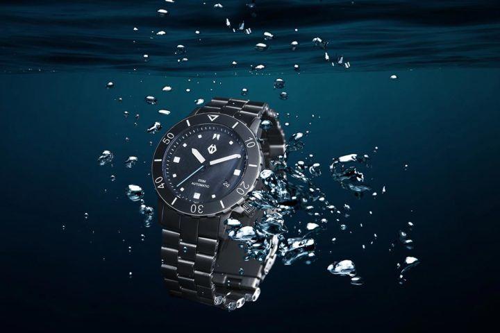 Introducing the Hamtun H1, an affordable titanium dive watch - Monochrome Watches