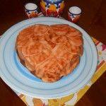 la mia zuppa inglese a cuore !!!!!!!!!!!!