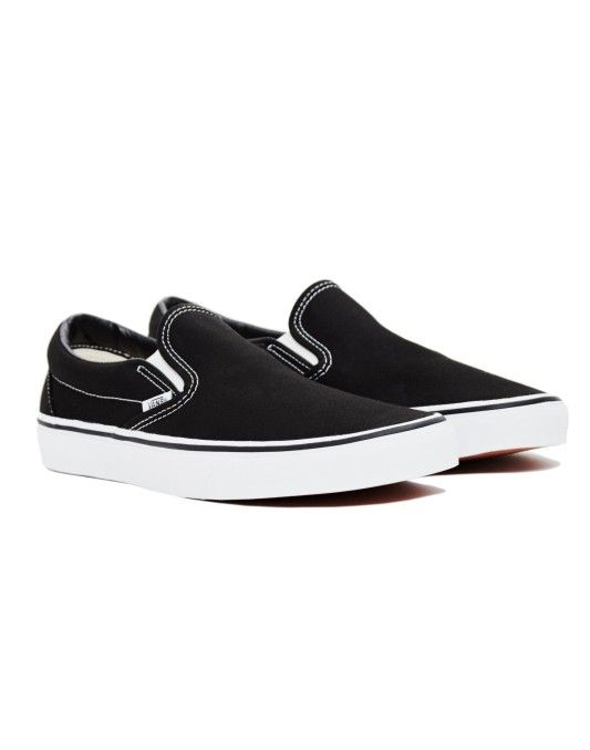 Vans Slip-On Plimsolls Black  - ON SALE NOW | Shop Now at The Idle Man | #StyleMadeEasy