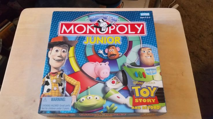 Monopoly Junior Board Game Disney Toy Story and Beyond 2002 – Complete   Toys & Hobbies, Games, Board & Traditional Games   eBay!