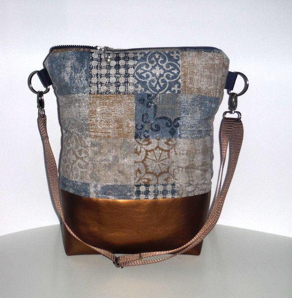 Schultertaschen - Tasche Beutel Kinderwagentasche Delft - ein Designerstück von KiS-Ma bei DaWanda