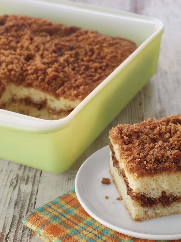 Cinnamon swirl crumb cake muffin mix remember the