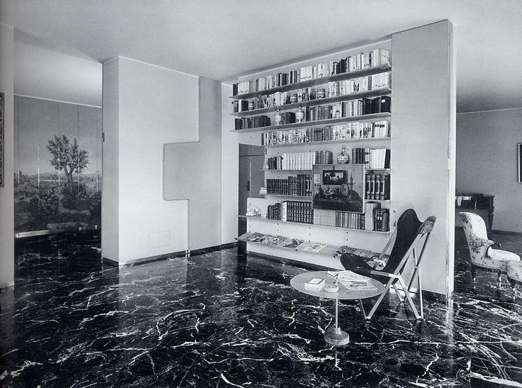 Ignazio Gardella - Casa Tognella, Milan 1953. Via.