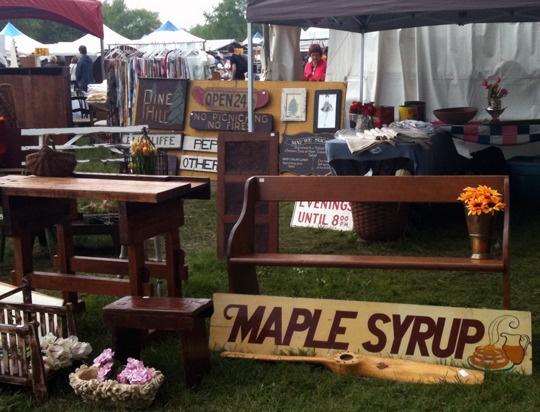 Christie Lake Antique Show  -  Dundas, Ontario