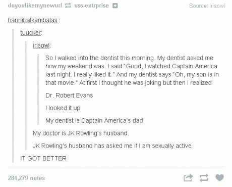 I saw this before without the Rowling part omg it got better