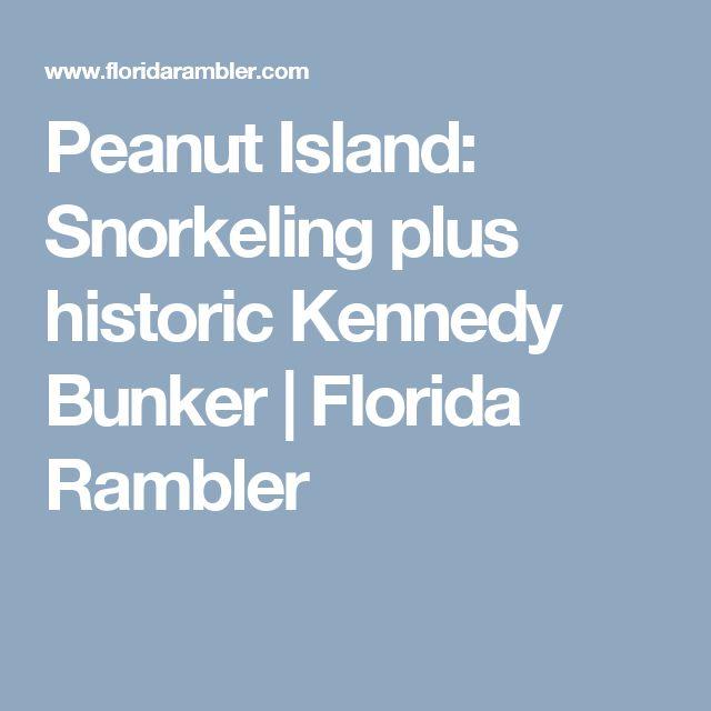Peanut Island: Snorkeling plus historic Kennedy Bunker | Florida Rambler