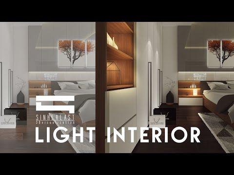 Interior Post Production Photoshop [Light] - YouTube