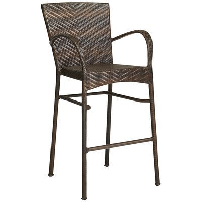 Ciudad Barstool Mocha for the new outdoor kitchen and bar
