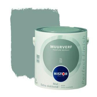 Histor Perfect Finish muurverf mat tin 2, alles voor je klus om je huis & tuin te verfraaien vind je bij KARWEI