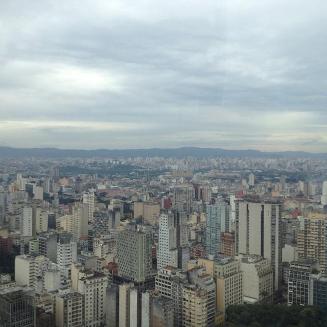 Sao Paulo from Terraco Italia