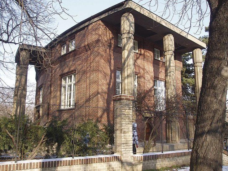 Bílkova vila v Praze 6