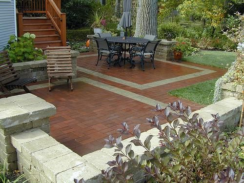 Best Backyard Hardscape Ideas Images On Pinterest Backyard - Backyard hardscape ideas