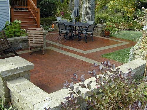 Best Backyard Hardscape Ideas Images On Pinterest Backyard - Backyard hardscape ideas