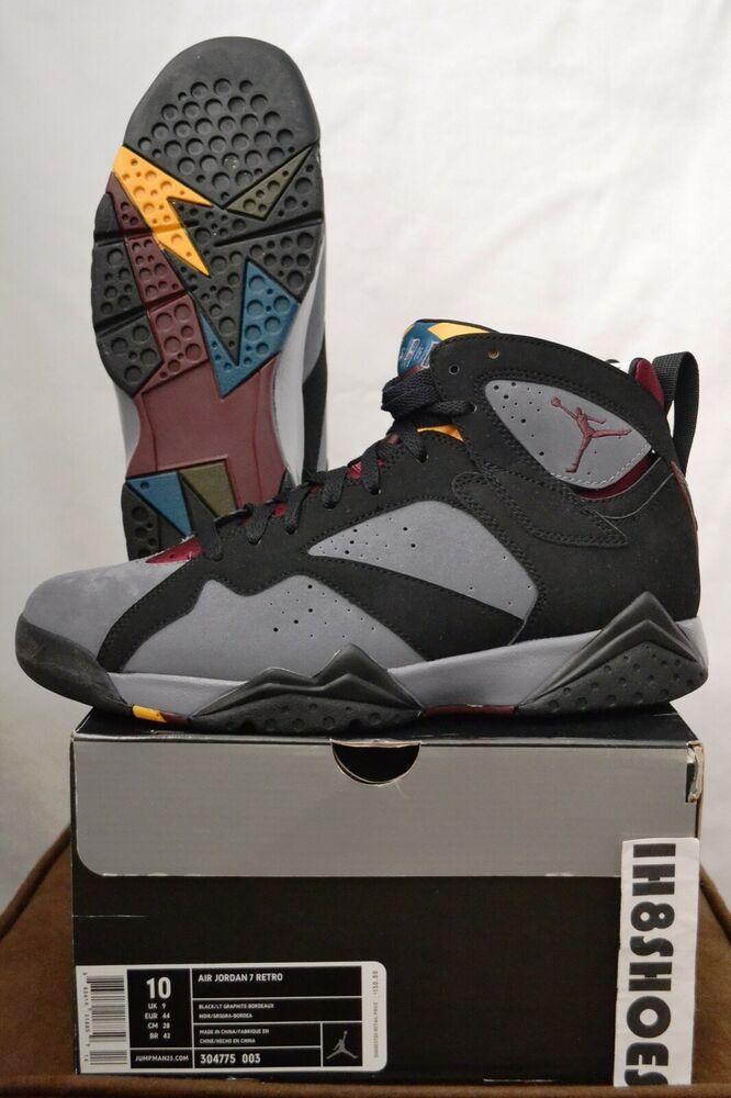"quality design f4924 d5af0 Nike Air Jordan 7 Retro ""Bordeaux"" 2011 OG DS 304775 003 Sz 10 XI 3 4 V 6 1  XI 9  shoes  kicks  sneakerheads"