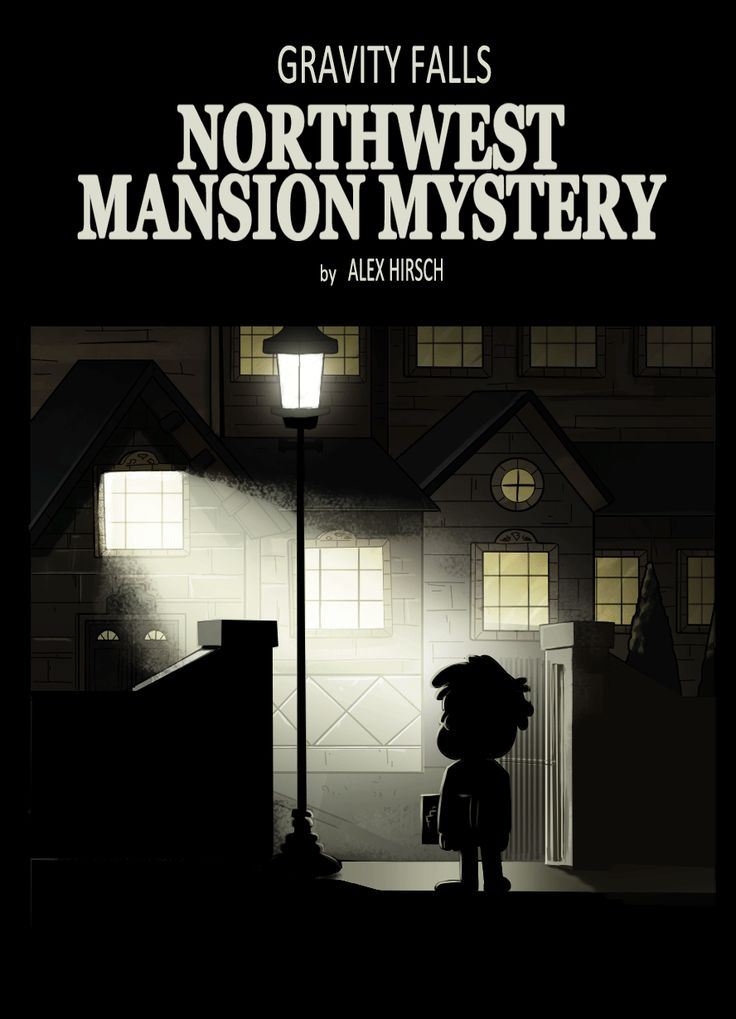 The Ghost Inside | by markmak | The Northwest Mansion Mystery | Gravity Falls | (gif)
