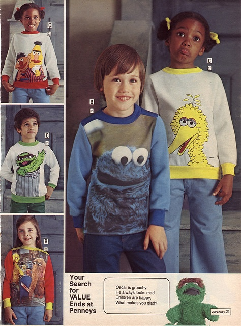 """""""I wanted the Cookie Monster pj's!"""""""