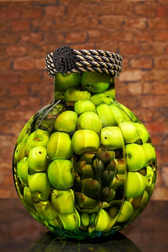 Green Apple Decor For Kitchen