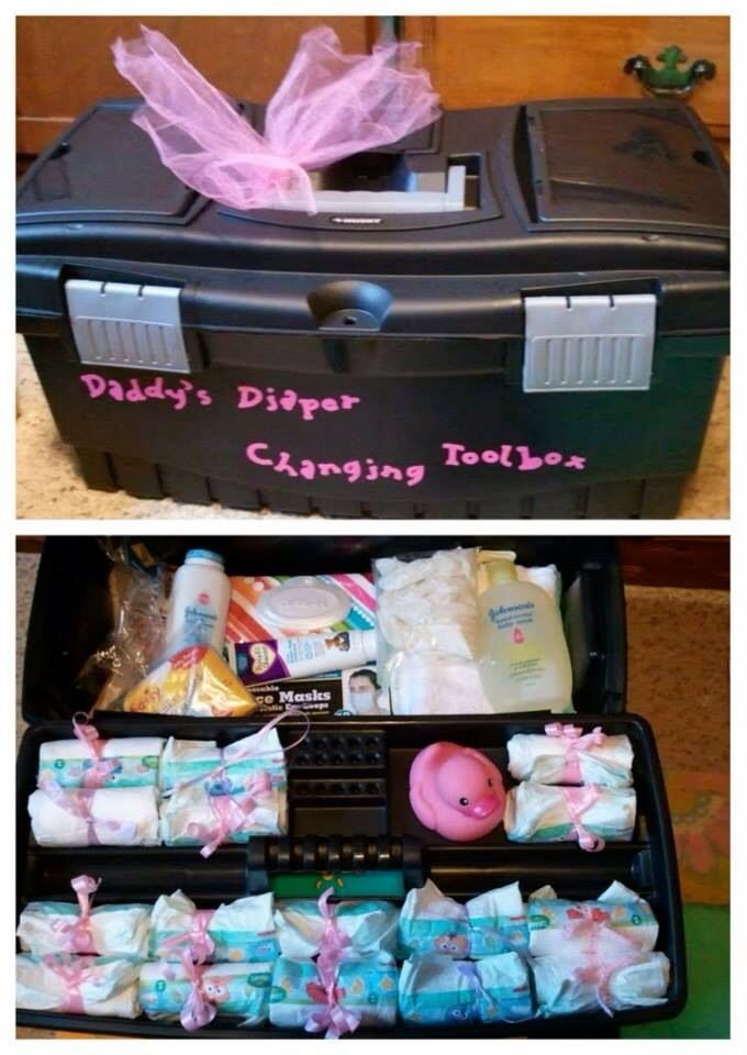 Baby shower gift for new dad I might just do this for my friends upcoming shower