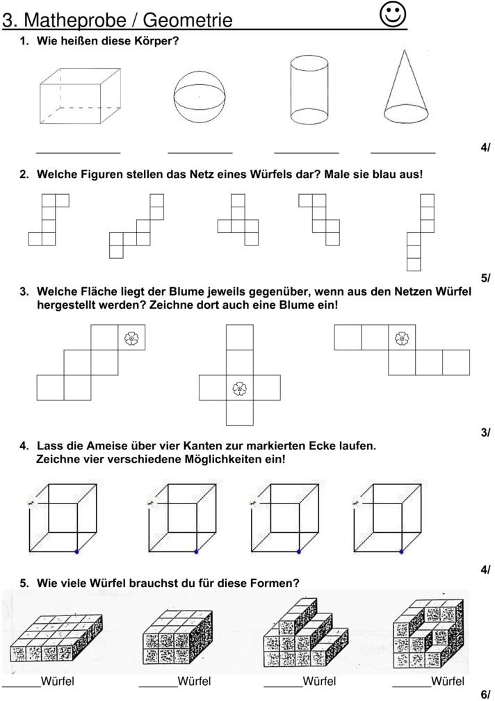 Erfreut Erkennen Formen Arbeitsblatt Galerie - Super Lehrer ...