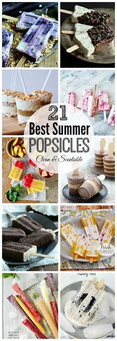 The Best Summer Popsicle Recipes | Clean & Scentsible | Bloglovin'