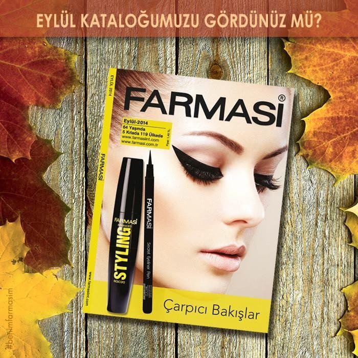 Yepyeni ürünler ve indirimli kampanyalarla dolu Eylül kataloğumuzu incelediniz mi?  Sipariş,Ücretsiz Katalog, Üyelik ve Online Alışveriş Şifresi için  http://goo.gl/r8zg6z  Online Katalog http://www.farmasiint.com/OnlineKatalog  Facebook Online Katalog http://goo.gl/NX31u9  #farmasi #farmasicolourcosmetic #benimfarmasim #eylul #katalog #farmasieylul #farmasikampanyalari #farmasikatalog