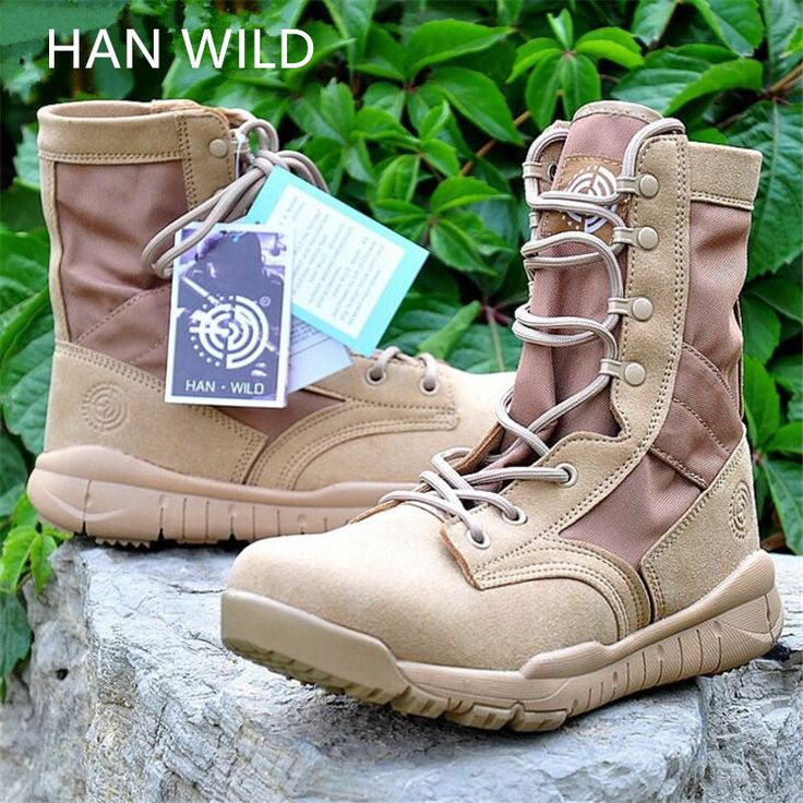 2017 Summer Army Boots Men's Military Desert Boots Ultralight Shoes Spring Breathable Ankle Boots For Men Botas Tacticos Zapatos