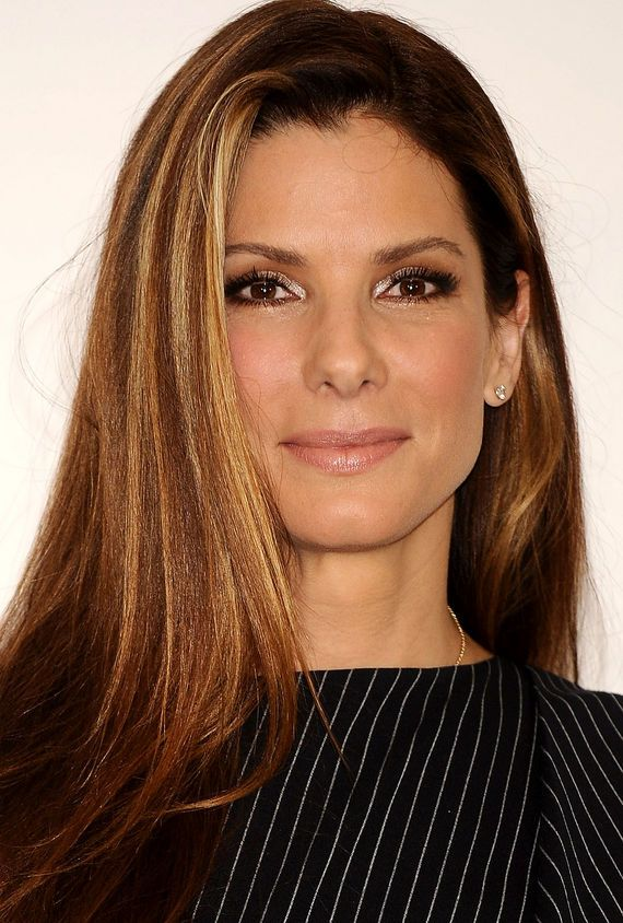 Sandra Bullock. Love this haircolor!
