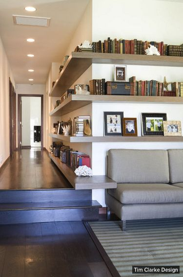 Tiny-Ass Apartment: Links roundup: Floating shelves, House Beautiful's small space tips, and a beautiful jewel box in Los Angeles