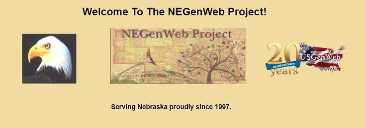 The Negenweb Project Genealogy Research Genealogy Nebraska