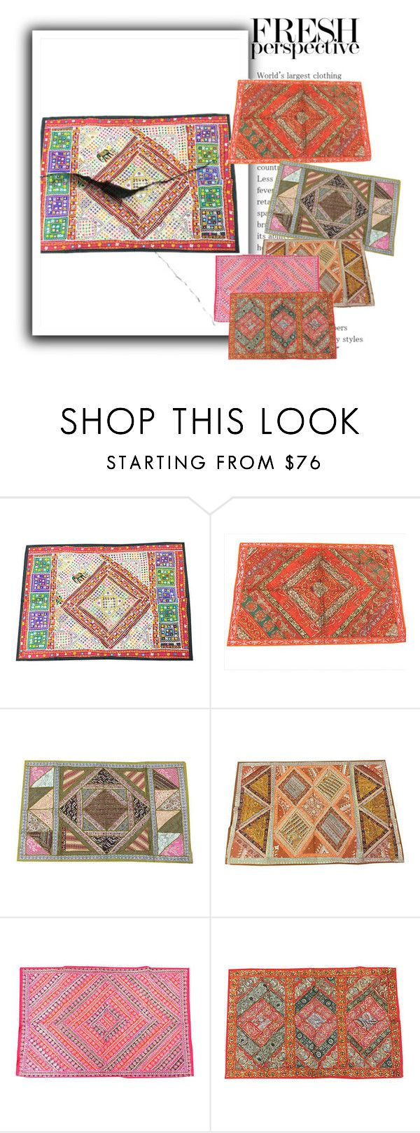 INDIAN ETHNIC PATCHWORK TAPESTRY by baydeals on Polyvore featuring interior, interiors, interior design, home, home decor, interior decorating and WALL  http://stores.ebay.com/mogulgallery/WALL-HANGINGS-TAPESTRIES-/_i.html?_fsub=353416519&_sid=3781319&_trksid=p4634.c0.m322