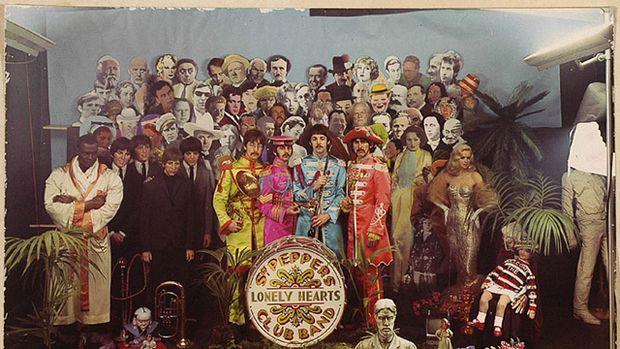 Michael Cooper's original Sgt Pepper's cover image