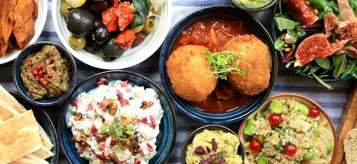 Vegetarian Mezze.  FFFx