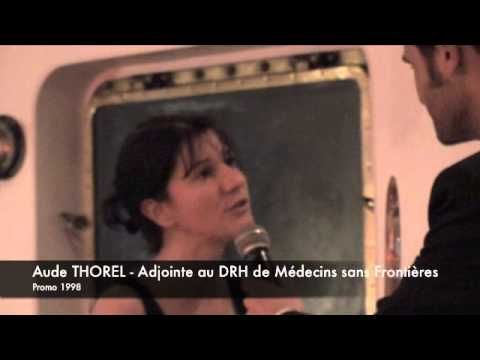 Interview Aude Thorel (promotion 1998) Responsable RH chez Médecins Sans...