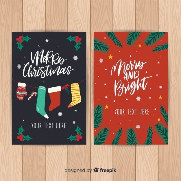 Download Hand Drawn Christmas Card Template For Free Christmas Card Template Christmas Card Templates Free Christmas Cards Free