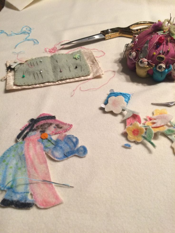 Mary Mary Quite Contrary being created. Handmade Woollen Baby Blanket for Ebony by Alice.