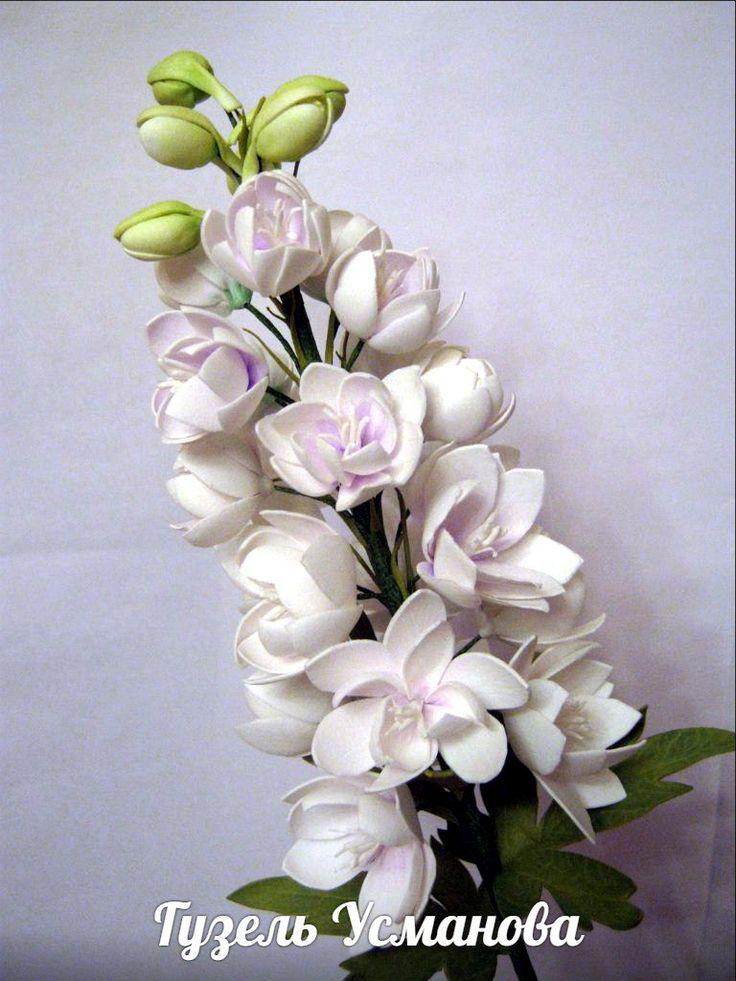 Фоамиран. МК по цветам из фоамирана.