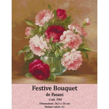Vanzare set goblen Festive bouquet http://set-goblen.ro/flori/3568-festive-bouquet.html