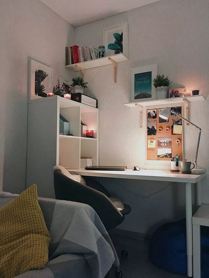 Free Room Design: 33+ Free Diy Bedroom Desk Ideas You Can Make Today 5 (With
