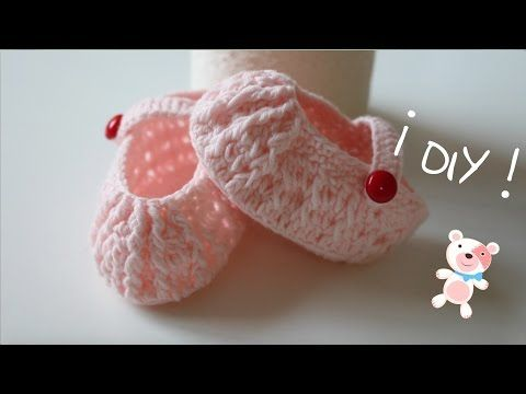 DIY, How to make a baby shoes / Baby shoes / cucaditasdesaluta - YouTube