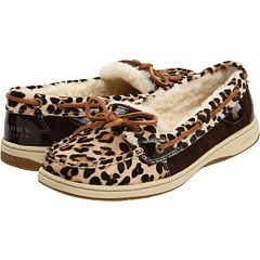 Sperrys with leopard and fur. Ahhhh