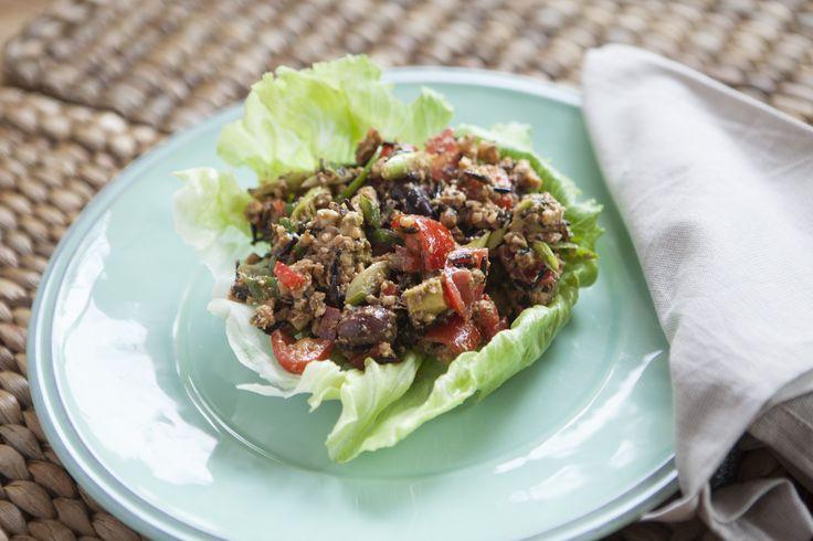 Rawthentic Taco Salad #tenina #thermomix #vegetarian #newbook