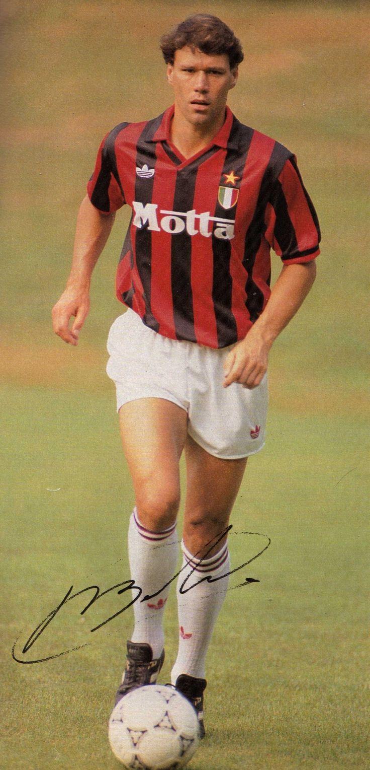 #MarcoVanBasten #AC Milan #Holland