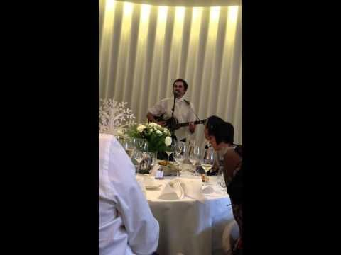 Groom's Funny Song