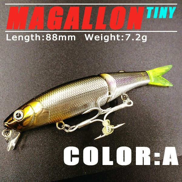 5pcs/lot 2015 good fishing lures minnow,quality professional baits 8.8cm/7.2g,swimbait jointed bait bearking