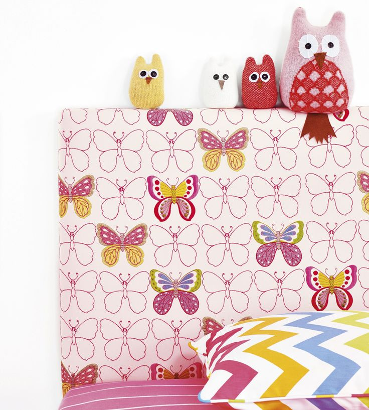 How To Style | Girls Rooms | Get Happy Fabric by Jane Churchill | Jane Clayton